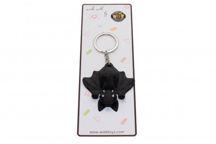 Bat keychain & phone stand - Negru [3]