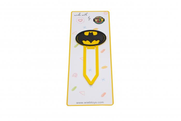 Batman bookmark - galben [0]