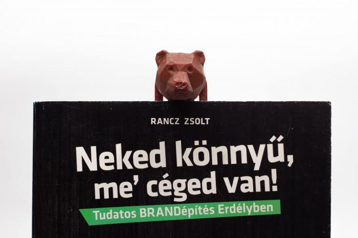 3D Bear bookmark [2]