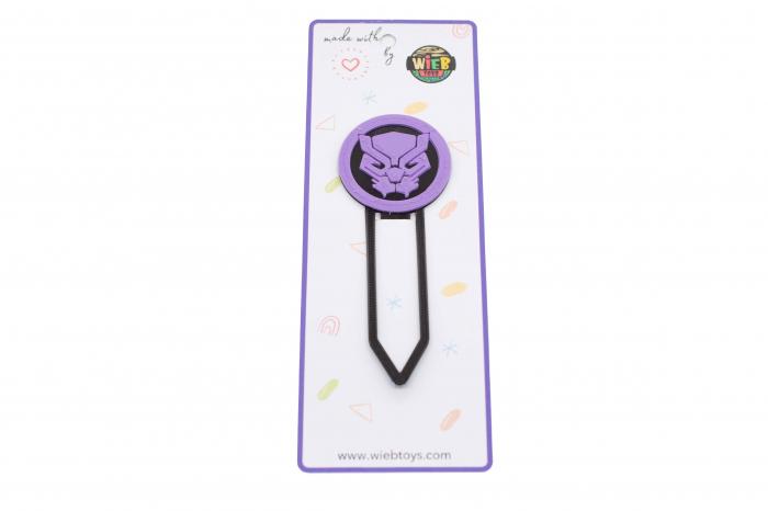 Black Panther bookmark - violet [0]