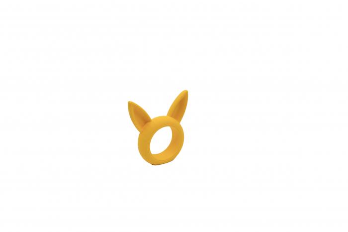Bunny Napkin ring - galben [1]