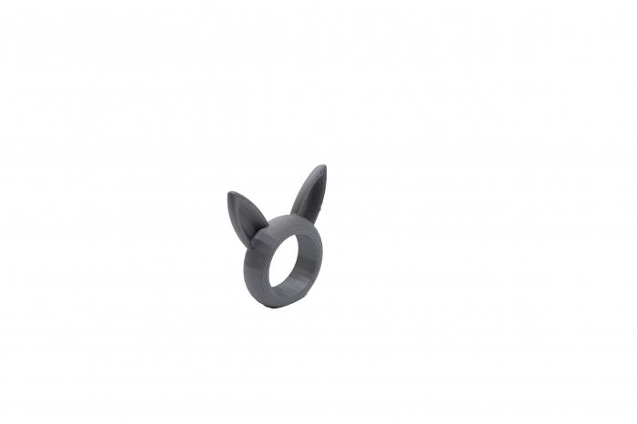 Bunny Napkin ring - argintiu [1]