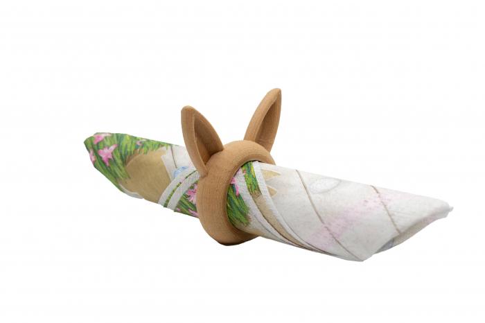 Bunny Napkin ring - lemn [0]