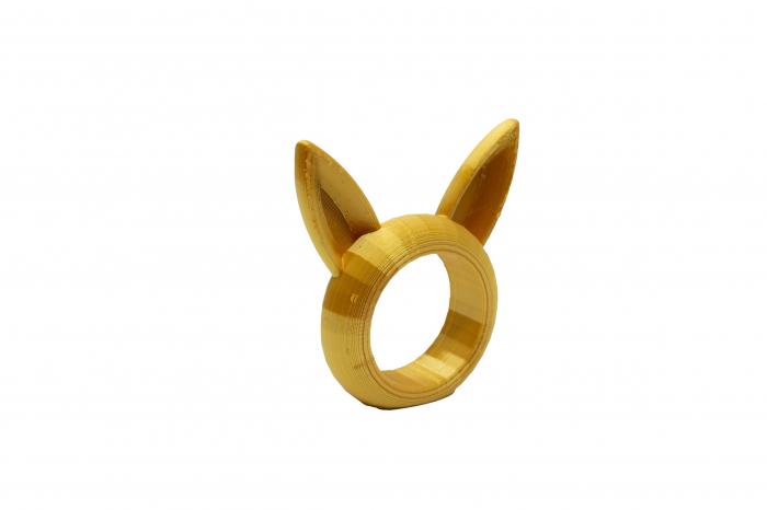 Bunny Napkin ring - auriu [1]