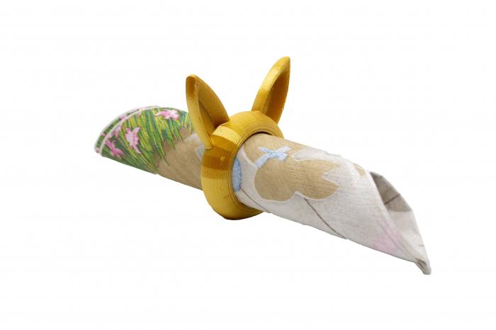 Bunny Napkin ring - auriu [0]