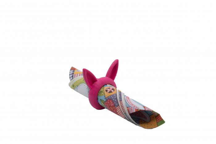 Bunny Napkin ring - pink [0]