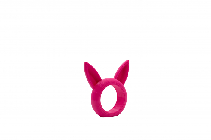 Bunny Napkin ring - pink [1]