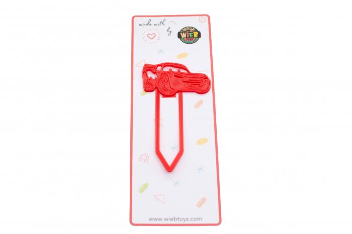 Cars bookmark - rosu [0]