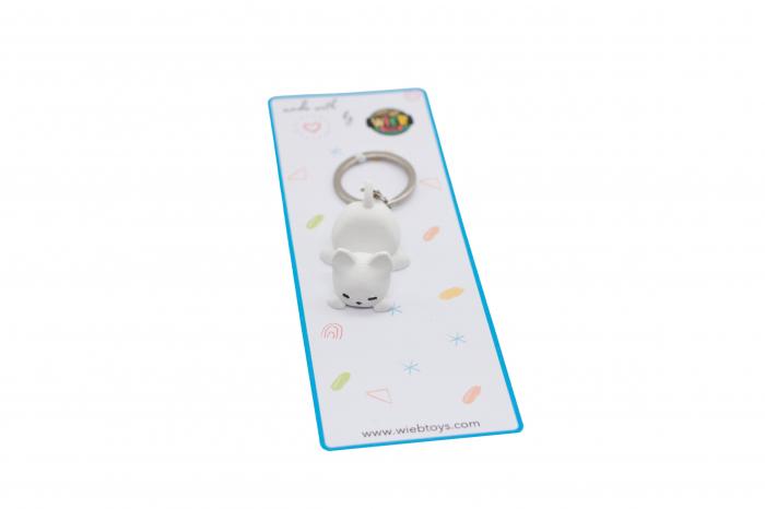 Cat keychain & phone stand - Alb [2]