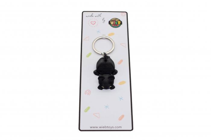 Cat keychain & phone stand - Negru [2]