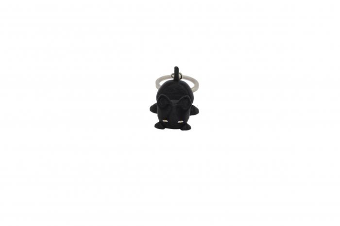 Cat keychain & phone stand - Negru [0]