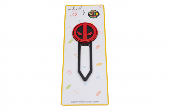 Deadpool bookmark - negru [0]