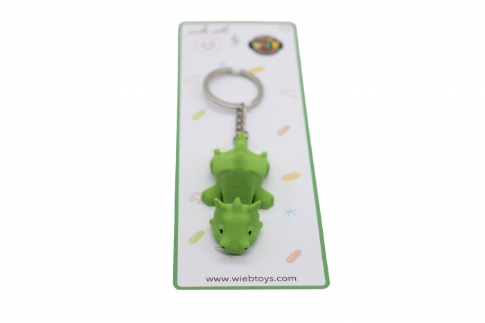 Dragon keychain & phone stand - Verde [2]