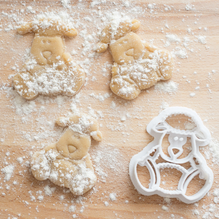 Easter's cookie cutter - Cute sheep [3]