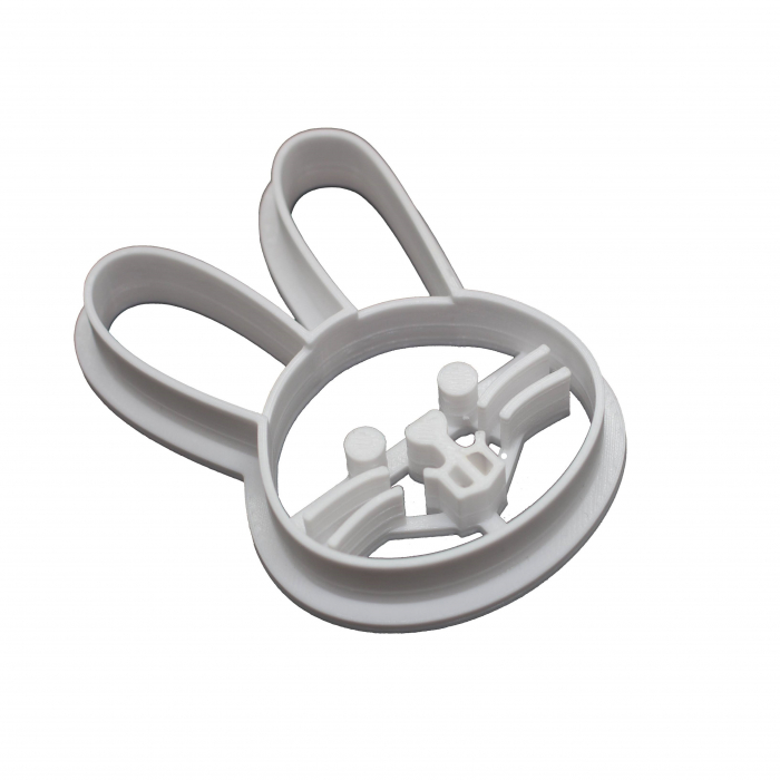Easter's cookie cutter - Happy bunny face [0]