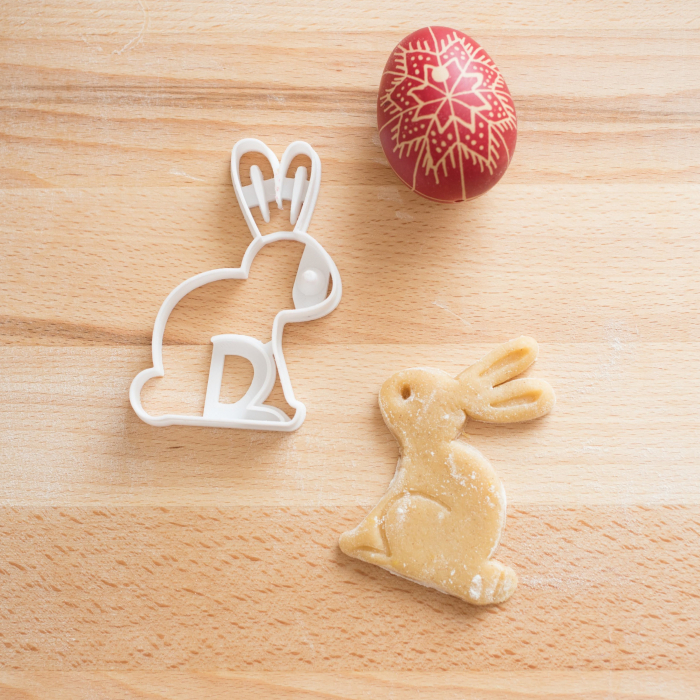 Easter's cookie cutter - Sitting rabbit [2]