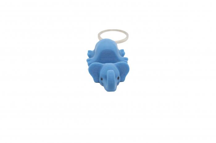 Elephant keychain & phone stand - Albastru [0]