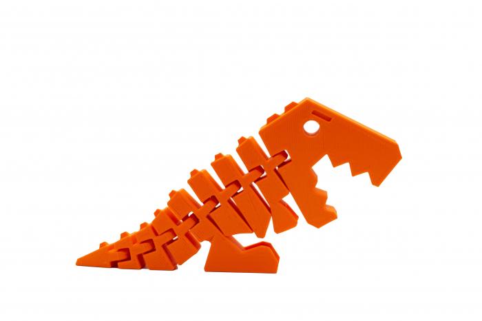 Flexi Baby T-Rex - Portocaliu [0]