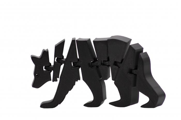 Flexi Bear - Negru [0]