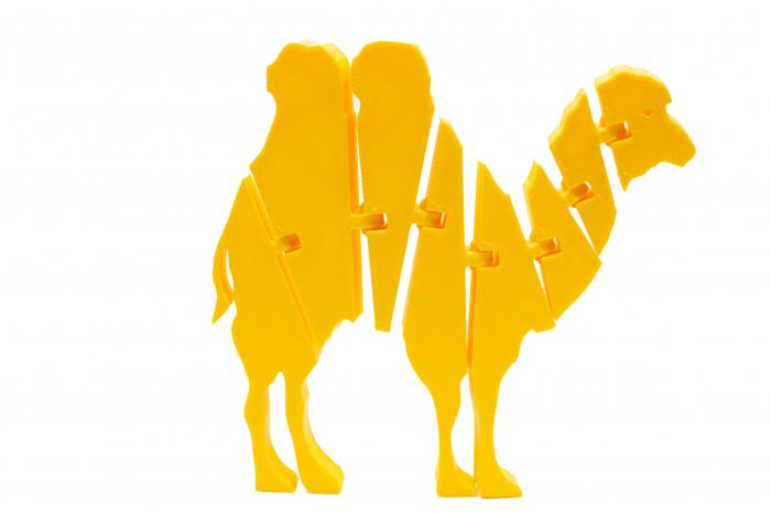Flexi Camel - Galben [0]