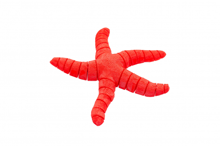 Flexi Simple Starfish - Rosu [0]