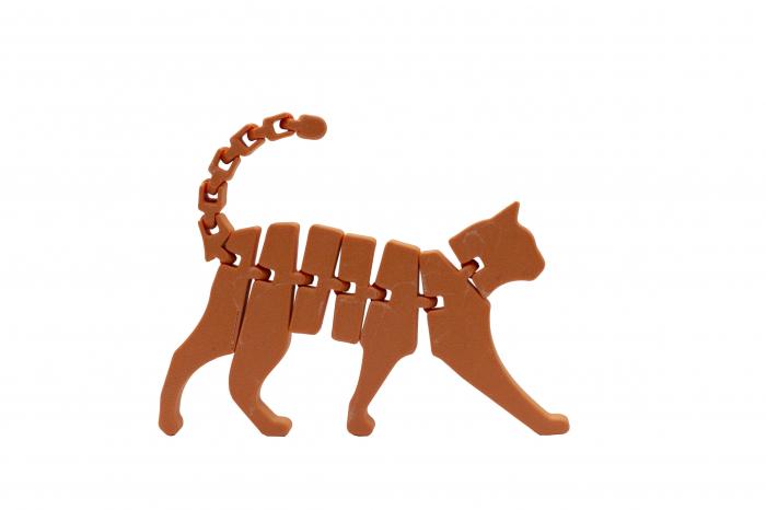 Flexi Cat - Portocaliu [1]