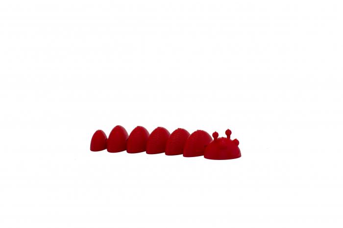 Flexi Caterpillar - Rosu [0]