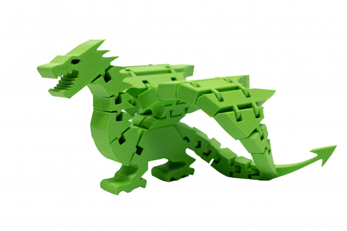 Flexi Dragon - Verde [0]
