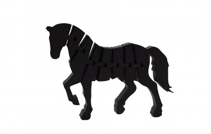 Flexi Horse - Negru [0]