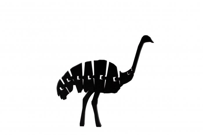 Flexi Ostrich - Negru [0]