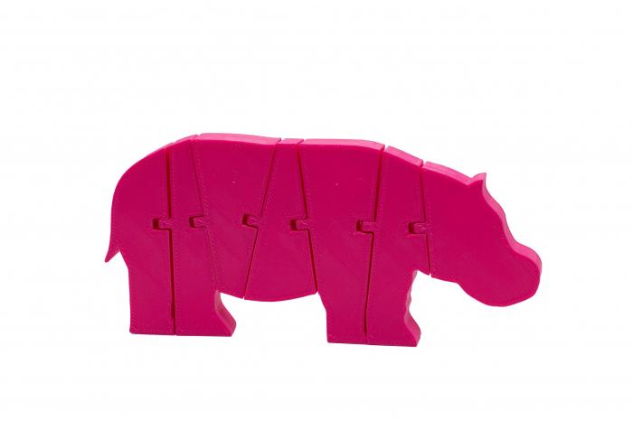 Flexi Hippo - Pink [0]