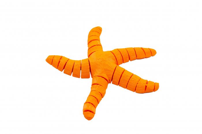 Flexi Simple Starfish - Portocaliu [0]
