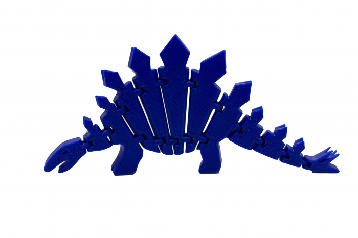 Flexi Stegosaurus - Albastru inchis [0]