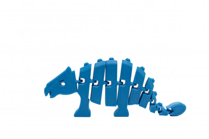Flexi Ankylosaurus - Albastru [0]