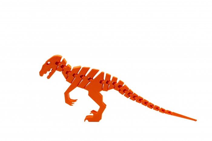Flexi Velociraptor - Portocaliu [0]