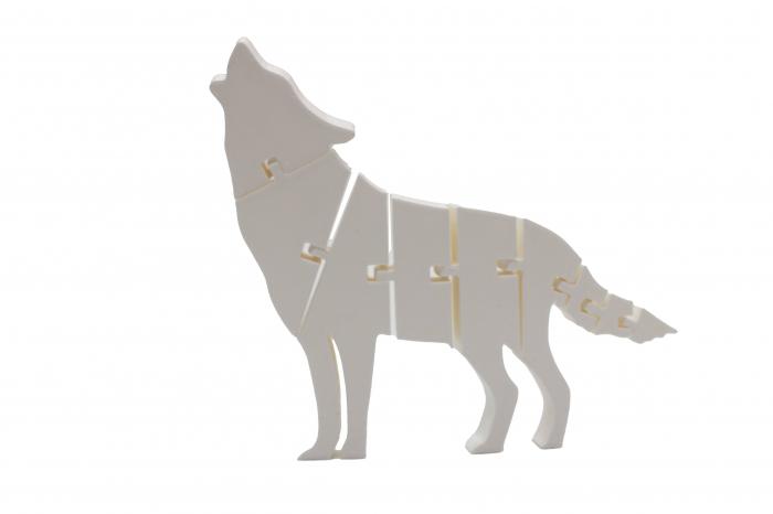 Flexi Wolf - Alb [0]