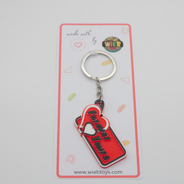 Forever Yours keychain [1]