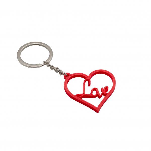 Heart Love keychain [0]