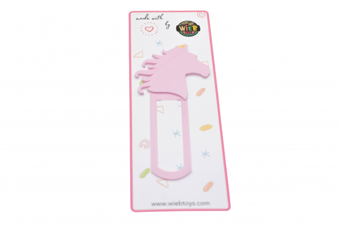 Horse bookmark - baby pink [0]