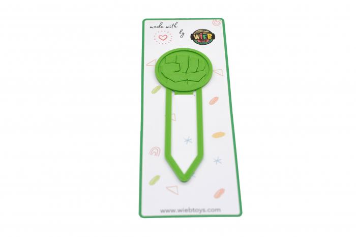 Hulk bookmark - verde [0]
