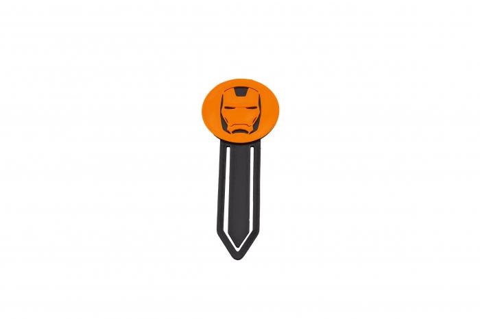 Iron Man bookmark - orange [1]