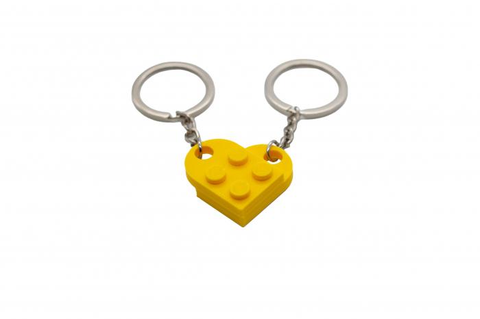 Lego couple keychain - galben [0]