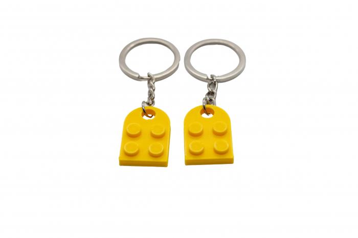 Lego couple keychain - galben [1]