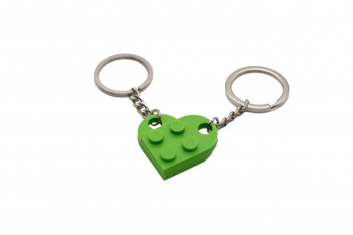 Lego couple keychain - verde [0]