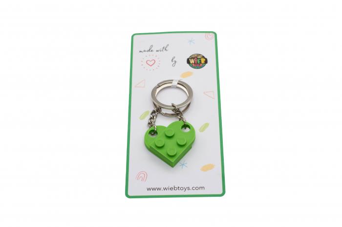 Lego couple keychain - verde [2]