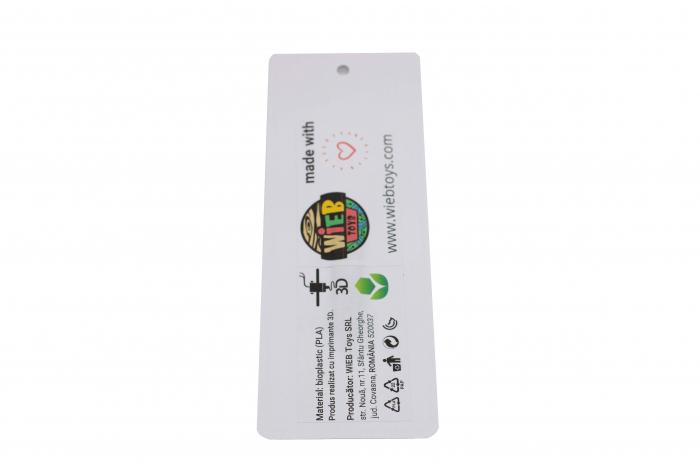 Mickey Mouse bookmark - negru [2]