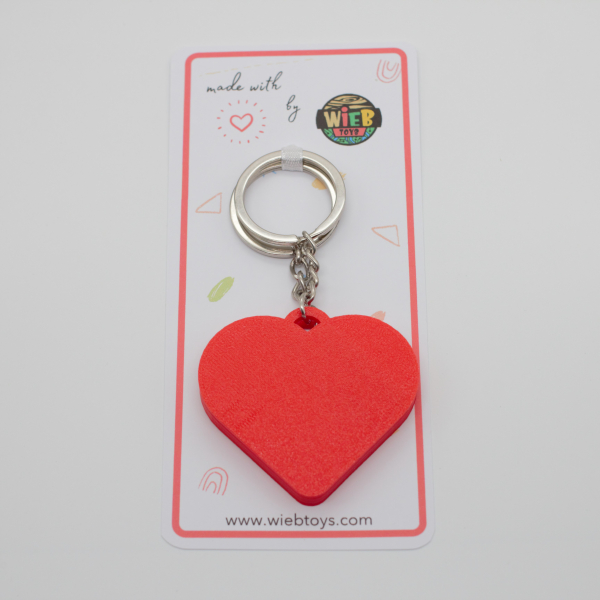 Pair of Maze Hearts keychains [4]