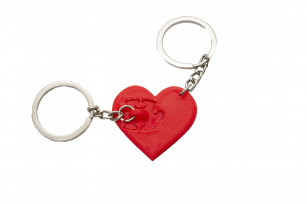 Piece of my heart Couple keychain [0]