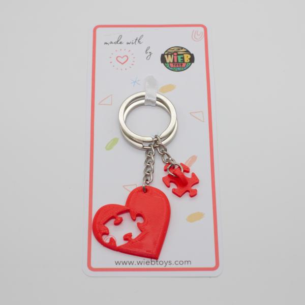 Piece of my heart Couple keychain [3]