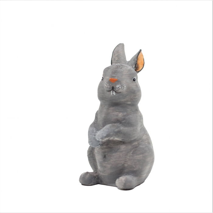 Set de pictat figurina in miniatura iepure, culori acrilice 6x3ml [1]